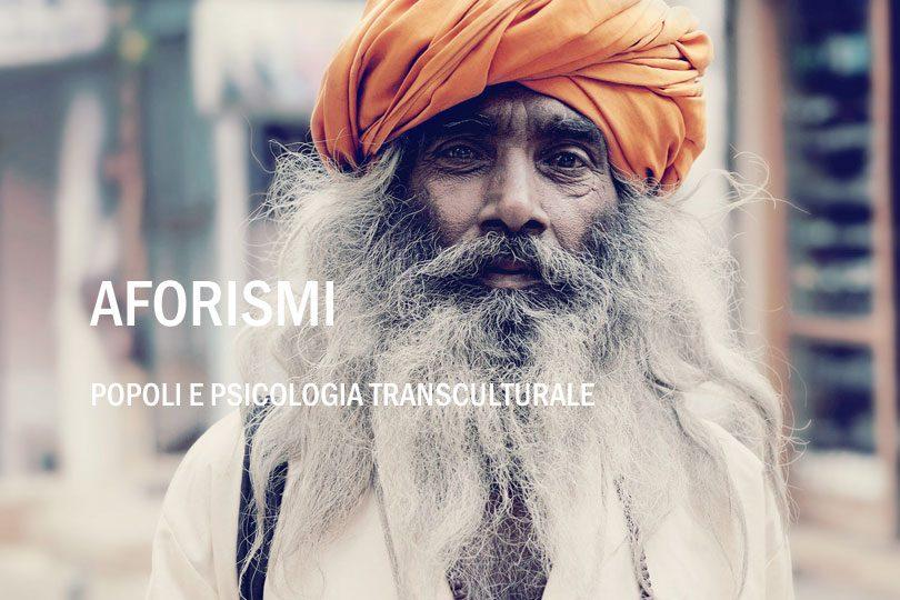 Aforismi psicologia transculturale